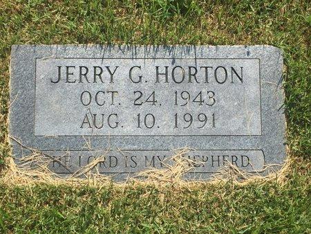 HORTON, JERRY G - Christian County, Missouri   JERRY G HORTON - Missouri Gravestone Photos