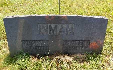 INMAN, JANE - Christian County, Missouri   JANE INMAN - Missouri Gravestone Photos