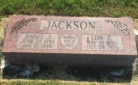 JACKSON, LON G - Christian County, Missouri | LON G JACKSON - Missouri Gravestone Photos