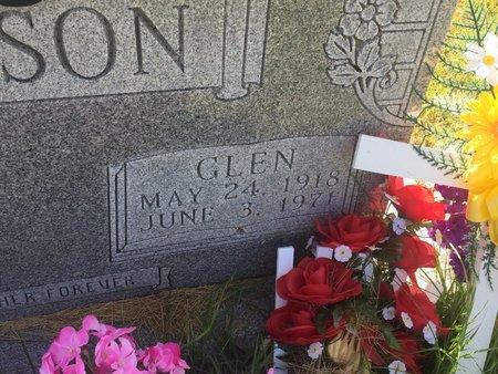 JACKSON, GLEN (CLOSE-UP) - Christian County, Missouri | GLEN (CLOSE-UP) JACKSON - Missouri Gravestone Photos