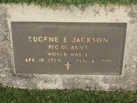 JACKSON, EUGENE E  (VETERAN WWII) - Christian County, Missouri | EUGENE E  (VETERAN WWII) JACKSON - Missouri Gravestone Photos