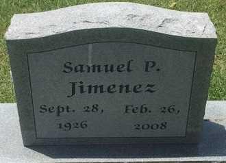 JIMENEZ, SAMUEL P - Christian County, Missouri   SAMUEL P JIMENEZ - Missouri Gravestone Photos