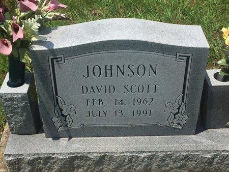 JOHNSON, DAVID SCOTT - Christian County, Missouri | DAVID SCOTT JOHNSON - Missouri Gravestone Photos