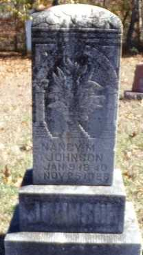 JOHNSON, NANCY M - Christian County, Missouri | NANCY M JOHNSON - Missouri Gravestone Photos