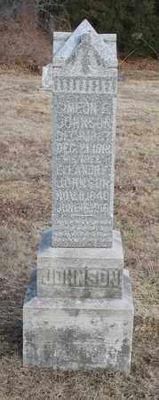 JOHNSON, ELEANORE - Christian County, Missouri | ELEANORE JOHNSON - Missouri Gravestone Photos