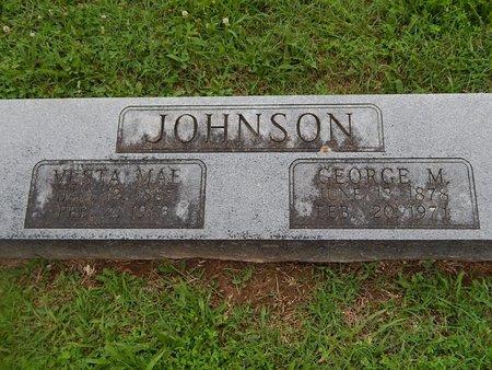 JOHNSON, VESTA MAE - Christian County, Missouri | VESTA MAE JOHNSON - Missouri Gravestone Photos