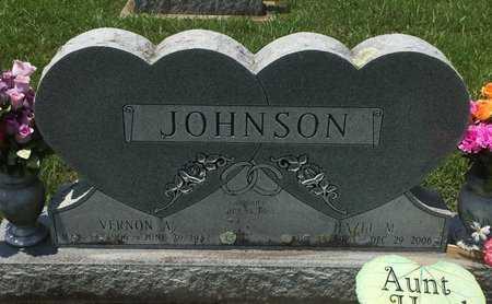 JOHNSON, VERNON A - Christian County, Missouri | VERNON A JOHNSON - Missouri Gravestone Photos