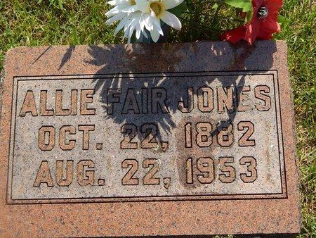 JONES, ALLIE - Christian County, Missouri   ALLIE JONES - Missouri Gravestone Photos