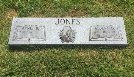 JONES, ARNIE B - Christian County, Missouri | ARNIE B JONES - Missouri Gravestone Photos