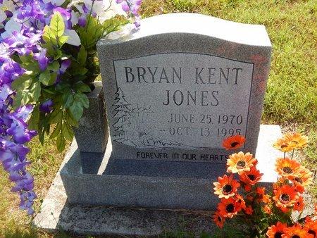 JONES, BRYAN KENT - Christian County, Missouri | BRYAN KENT JONES - Missouri Gravestone Photos