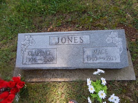 JONES, MAGE - Christian County, Missouri | MAGE JONES - Missouri Gravestone Photos