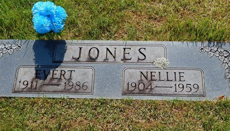 JONES, EVERT - Christian County, Missouri | EVERT JONES - Missouri Gravestone Photos