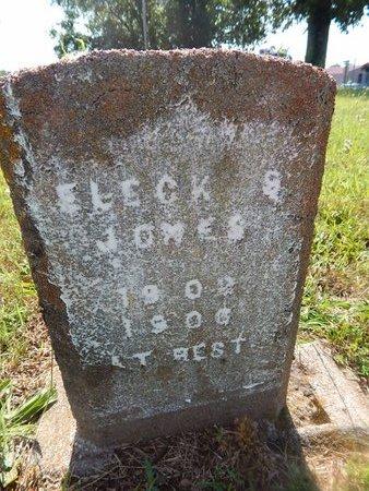 JONES, ELECK S - Christian County, Missouri | ELECK S JONES - Missouri Gravestone Photos