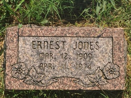 JONES, ERNEST - Christian County, Missouri | ERNEST JONES - Missouri Gravestone Photos