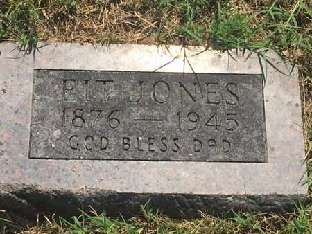 JONES, EIT - Christian County, Missouri | EIT JONES - Missouri Gravestone Photos