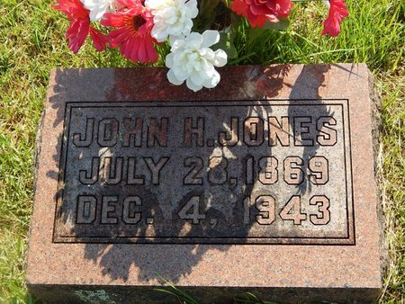 JONES, JOHN H - Christian County, Missouri | JOHN H JONES - Missouri Gravestone Photos