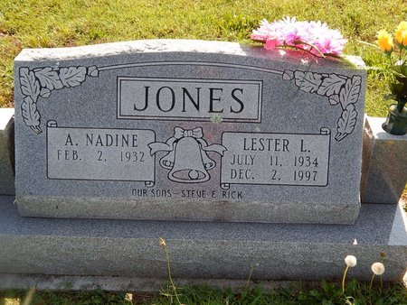 JONES, LESTER L - Christian County, Missouri   LESTER L JONES - Missouri Gravestone Photos