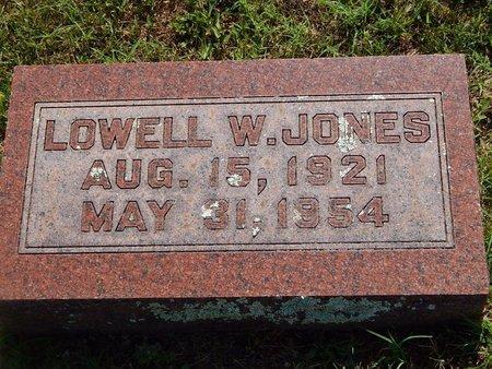 JONES, LOWELL W - Christian County, Missouri | LOWELL W JONES - Missouri Gravestone Photos