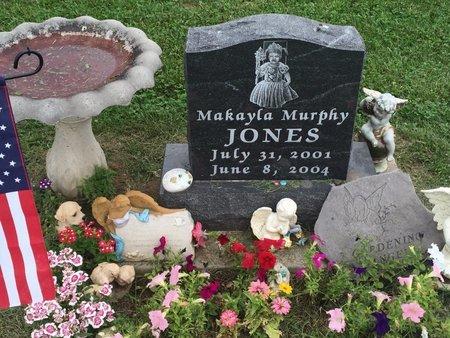 JONES, MAKAYLA MURPHY - Christian County, Missouri | MAKAYLA MURPHY JONES - Missouri Gravestone Photos