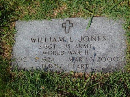 JONES, WILLIAM L VETERAN WWII - Christian County, Missouri | WILLIAM L VETERAN WWII JONES - Missouri Gravestone Photos