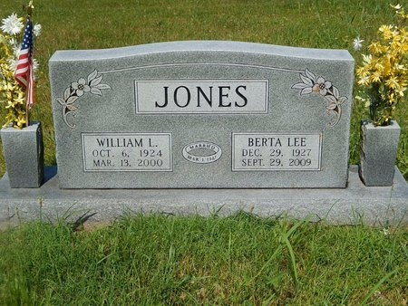 BEAVERS JONES, BERTA LEE - Christian County, Missouri | BERTA LEE BEAVERS JONES - Missouri Gravestone Photos