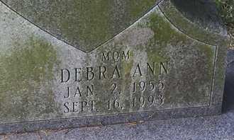KNIGHT, DEBRA ANN (CLOSE-UP) - Christian County, Missouri | DEBRA ANN (CLOSE-UP) KNIGHT - Missouri Gravestone Photos
