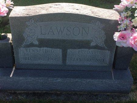 LAWSON, KENNETH G - Christian County, Missouri | KENNETH G LAWSON - Missouri Gravestone Photos