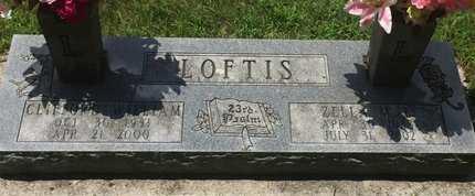 LOFTIS, CLIFFORD WILLIAM - Christian County, Missouri   CLIFFORD WILLIAM LOFTIS - Missouri Gravestone Photos