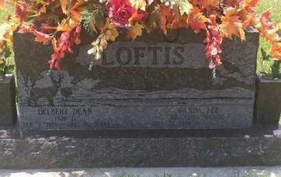 LOFTIS, DELBERT DEAN - Christian County, Missouri | DELBERT DEAN LOFTIS - Missouri Gravestone Photos