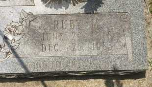 LONG, RUBY M (CLOSE-UP) - Christian County, Missouri | RUBY M (CLOSE-UP) LONG - Missouri Gravestone Photos