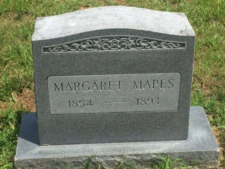 MAPES, MARGARET - Christian County, Missouri | MARGARET MAPES - Missouri Gravestone Photos