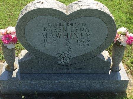 MAWHINEY, KAREN LYNN - Christian County, Missouri | KAREN LYNN MAWHINEY - Missouri Gravestone Photos