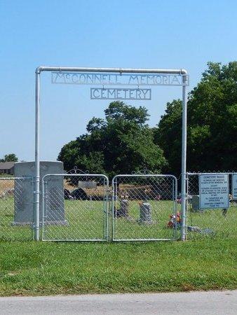 *, MCCONNELL CEMETERYENTRANCE - Christian County, Missouri | MCCONNELL CEMETERYENTRANCE * - Missouri Gravestone Photos