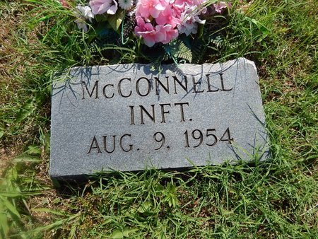 MCCONNELL, INFANT - Christian County, Missouri | INFANT MCCONNELL - Missouri Gravestone Photos