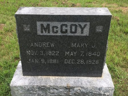 MCCOY, MARY J - Christian County, Missouri | MARY J MCCOY - Missouri Gravestone Photos