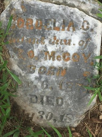 MCCOY, CORDELIA C - Christian County, Missouri | CORDELIA C MCCOY - Missouri Gravestone Photos