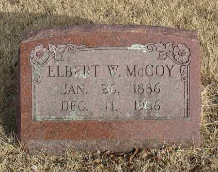 MCCOY, ELBERT W. - Christian County, Missouri | ELBERT W. MCCOY - Missouri Gravestone Photos