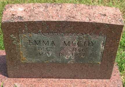 MCCOY, EMMA - Christian County, Missouri | EMMA MCCOY - Missouri Gravestone Photos