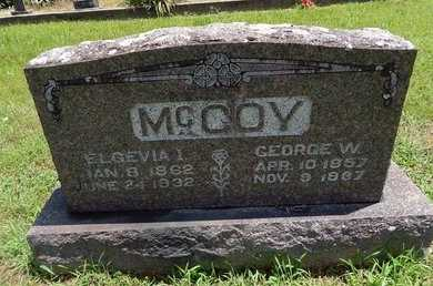 MCCOY, ELGEVIA I - Christian County, Missouri | ELGEVIA I MCCOY - Missouri Gravestone Photos