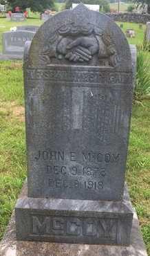 MCCOY, JOHN E - Christian County, Missouri   JOHN E MCCOY - Missouri Gravestone Photos