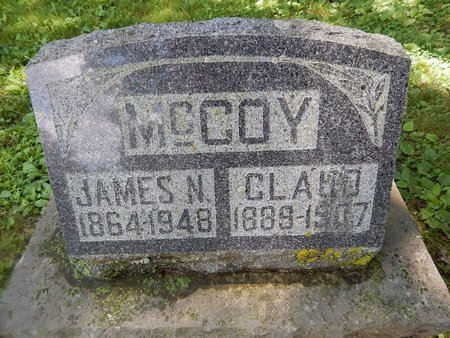MCCOY, CLAUD - Christian County, Missouri   CLAUD MCCOY - Missouri Gravestone Photos