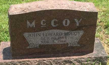 MCCOY, JOHN EDWARD - Christian County, Missouri | JOHN EDWARD MCCOY - Missouri Gravestone Photos