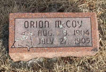 MCCOY, ORION - Christian County, Missouri | ORION MCCOY - Missouri Gravestone Photos