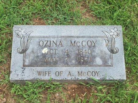 MCCOY, OZINA - Christian County, Missouri   OZINA MCCOY - Missouri Gravestone Photos