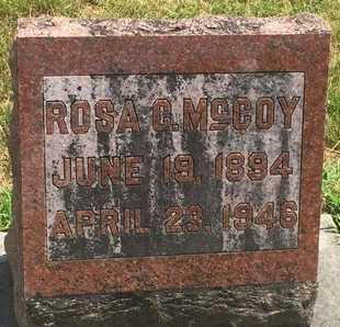 MCCOY, ROSA C - Christian County, Missouri | ROSA C MCCOY - Missouri Gravestone Photos