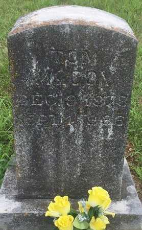 MCCOY, TOM - Christian County, Missouri | TOM MCCOY - Missouri Gravestone Photos