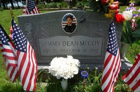 MCCOY, SAMMY DEAN (VETERAN) - Christian County, Missouri | SAMMY DEAN (VETERAN) MCCOY - Missouri Gravestone Photos