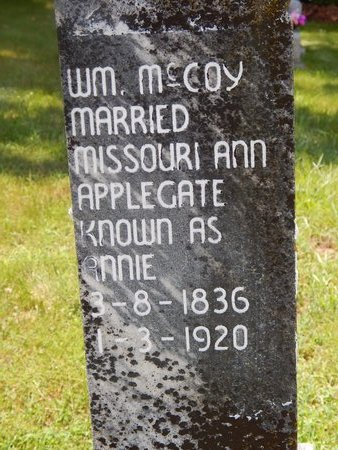 MCCOY, WILLIAM - Christian County, Missouri | WILLIAM MCCOY - Missouri Gravestone Photos