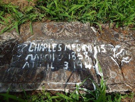 MCGINNIS, CHARLES - Christian County, Missouri | CHARLES MCGINNIS - Missouri Gravestone Photos