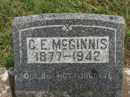MCGINNIS, C E - Christian County, Missouri   C E MCGINNIS - Missouri Gravestone Photos